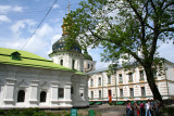 The Lavra (with over 80 bldgs.) was founded by monks in 1051 & was a center of enlightenment.