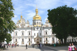 The Dormition Cathedral at the Pechersk Lavra Monastery (it was rebuilt in 2000).