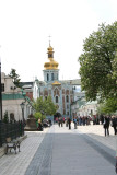 A closer shot of the Golden Gate from inside of the Lavra.