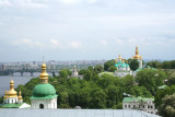 The Lower Lavra has extensive caves which were used as catacombs.
