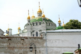 View from the Lower Lavra of the Refectory Church of St. Anthony and Theodosius.