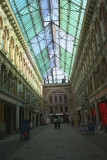 View of the incredibly beautiful Passage Mall (shopping mall) on Deribasovskaya Street.