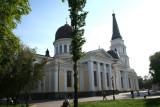 Preobrazhensky Cathedral (Transfiguration Cathedral) at Sobornaya Square.