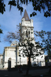 View of a nice cathedral in Odessa (I don't know what denomination it is).
