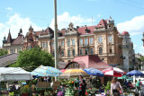 View of Old Market Square with great architecture in the background.