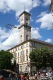 The Ratucha (Town Hall) was built a in 1835 has a clock and a 65-meter tower.