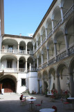 View of the Italian Courtyard where I had a coffee with my tour guide.