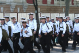 In this last photo, the cadets knew that I was photographing them, and they were cracking up!