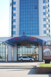 The modern Hotel Odessa is on the harbor. I stopped in and had caviar there.