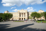 Shot (with my wide-angle lense) of Ivan Franko Lviv University.