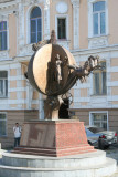 The famous Monument to Orange in the Odessa.