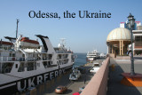 View of the port of Odessa.