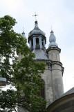 Tower of the Armenian Orthodox Church.