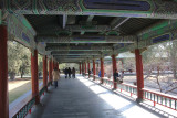 The long corridor continued to other parts of the Temple of Heaven.