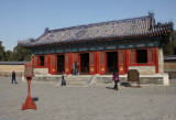 Front of the West Annex Hall of the Celestial Warehouse, built in 1530 during the Ming Dynasty by Emperor Jiajing.