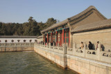 With an area of 2.2 square kilometers, Kunming Lake covers approximately three quarters of the Summer Palace grounds.