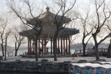 It is a great place to watch the winter ice thaw. Then you know it is spring at the Knowing Spring Pavilion.