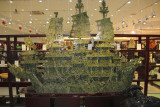 This amazing jade ship took many months with many artisans to complete.