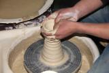 Close-up of the future vase.