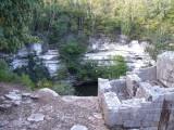 Cenote Sagrado, where Maya sacrificed objects and human beings into this sinkhole to worship to the Maya rain god Chaac.