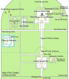 Map of the Temple of Heaven complex.