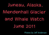 Juneau, Alaska, Mendhall Glacier and Whale Watch (June 2011)