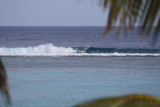 Surf breaking on reef, Moana Sands