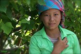 A Young Hmong on the Road to Meo Vac.