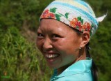 A Hmong Smile on the road to Bao Lac.