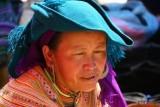 Flower Hmong; Can Cau Market.