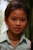 A School Girl on the Road to Pan Hou.