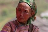 Flower Hmong. Can Cau Market.