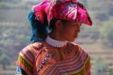 A Flower Hmong. Can Cau Market.