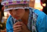 Young Hmong Girl. Bac Ha Market.