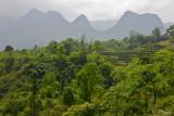 Peaks near Tinh Tuc. Cao Bang District.