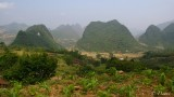 Landscape Near Bao Lac - Cao Bang District.