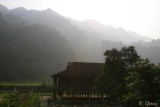 MORNING LIGHT ON TAI VILLAGE - BA BE LAKE