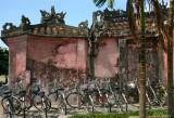 Bikes park in Hoi Han