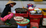 Saigon sea food market