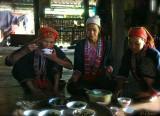 Lunch Break - Red dzao family.