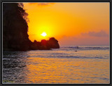 Sunset fishing.