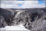Canyon snow