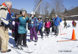 Northern Potter School's 4th Grade learns to ski.