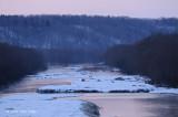 View from Setsurigawa River Bridge @ Tsurui