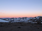 First light on the Great Western Divide