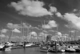 Clouds_ breskens harbour