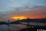Tsing Ma Bridge at dusk DSC_1237