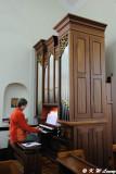 Playing organ @ St. Stephen's Church DSC_6918