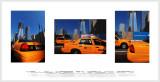 Yellow cabs at ground zero