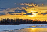 Rideau Canal Sunset 20110225
